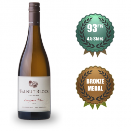 Walnut Block Nut Cracker ORGANIC Sauvignon Blanc
