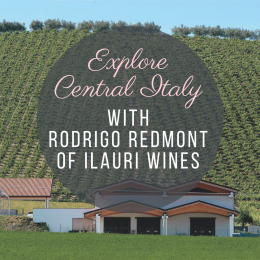 Exploring Central Italy Private Virtual Tasting Session : includes 4 bottles of wine